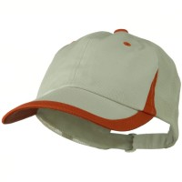 Ball Cap - Putty Orange Low Profile Camo Mesh Cap