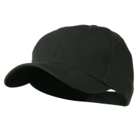 Ball Cap - Charcoal Cotton Twill Low Crown Cap