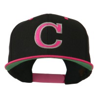 Embroidered Cap - C Outline Embroidered Cap   Free Shipping   e4Hats.com
