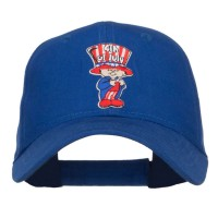 Embroidered Cap - Royal 4th of July Child Youth Cap