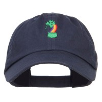 Embroidered Cap - Clover Rainbow Embroidered Cap