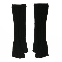 Glove - Black Women's Fingerless Arm Warmer