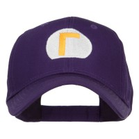 Embroidered Cap - Purple Mario Luigi Wario Waluigi Cap