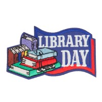 Patch - Library Embroidered Patches