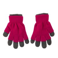 Glove - Grey Pink Ladies 3 in 1 Magic Glove