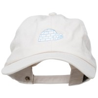 Embroidered Cap - Igloo Embroidered Unstructured Cap | Free Shipping | e4Hats.com