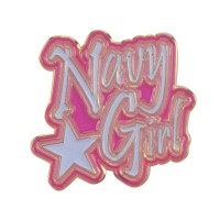 Pin , Badge - Navy Girl Lapel Pins