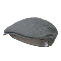Ivy - Slate Grey Men's Linen Summer Ivy Cap