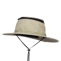 Outdoor - Khaki Talson UV Quick Dry Outdoor Hat