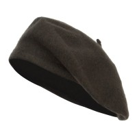 Beret - Olive Ladies Wool Beret