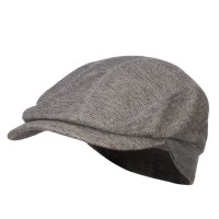 Ivy - Charcoal Marleld Terry Cotton Ivy Cap