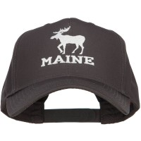 Embroidered Cap - Maine State Moose Embroidered Cap