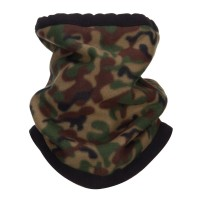 Warmer - Green Camo Fleece Neck Warmer