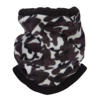 Warmer - Grey Camo Fleece Neck Warmer