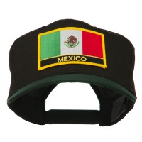 Embroidered Cap - Green Black Mexico Flag Patched Cap   Coupon Free   e4Hats.com