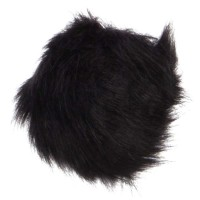 Band - Black Pom Pom Hair Tie