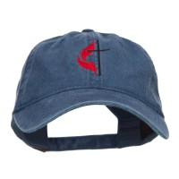 Embroidered Cap - Methodist Cross Embroidered Cap | Free Shipping | e4Hats.com