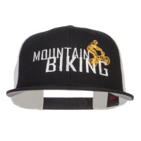 Embroidered Cap - Mountain Biking Snapback Cap | Free Shipping | e4Hats.com