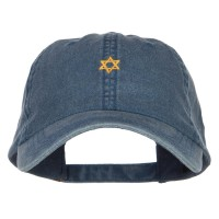 Embroidered Cap - Mini Jewish Star of David Cap | Free Shipping | e4Hats.com