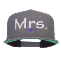 Embroidered Cap - Mrs Embroidered Snapback Cap