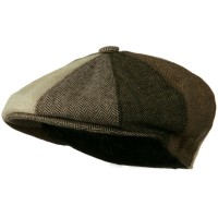 Newsboy - Brown Men's Wool Apple Cap | Coupon Free | e4Hats.com
