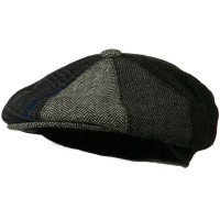 Newsboy - Grey Men's Wool Apple Cap | Coupon Free | e4Hats.com
