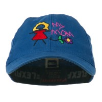 Embroidered Cap - Royal Youth My Mom Embroidered Cap