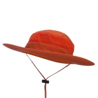 Outdoor - Orange UPF 50+ Meshed Outdoor Hat