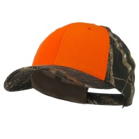 Ball Cap - Orange Two Tone Mossy Oak Cap