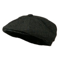 Newsboy - Black Men's Wool Apple Newsboy | Coupon Free | e4Hats.com