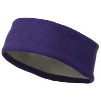 Band - Purple Moisture Wicking Fleece Head Band