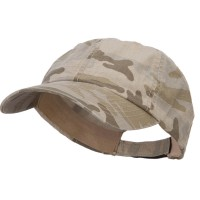 Ball Cap - Desert Camo Faded Camo Washed Cotton Cap