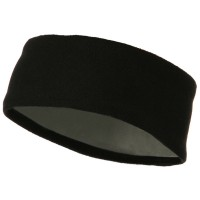 Band - Black Moisture Wicking Fleece Head Band