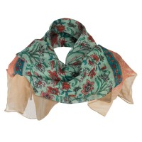 Scarf, Shawl - India Motif Summer Scarf | Free Shipping | e4Hats.com