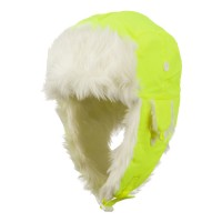 Trooper - Neon Yellow Neon Faux Fur Trooper Hat