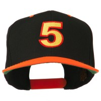 Embroidered Cap - 5 Embroidered Two Tone Cap   Free Shipping   e4Hats.com