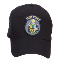 Embroidered Cap - Maine State Police Patch Cap | Free Shipping | e4Hats.com