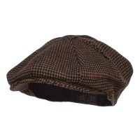 Newsboy - Men's Wool 8 Panel Newsboy Hat | Free Shipping | e4Hats.com