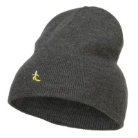 Beanie - Mini Banana Embroidered Beanie