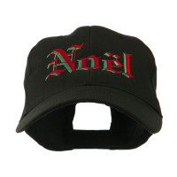 Embroidered Cap - Christmas Noel Shadow Cap   Free Shipping   e4Hats.com