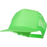 Ball Cap - Green Neon5 Panel Mesh Cap