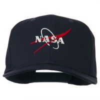 Embroidered Cap - Navy NASA Logo Embroidered Cap