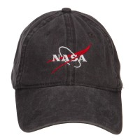 Embroidered Cap - Black NASA Logo Embroidered Cap