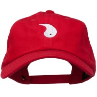 Embroidered Cap - Yang Symbol Embroidered Cap | Free Shipping | e4Hats.com