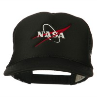 Embroidered Cap - Black NASA Embroidered Youth Cap