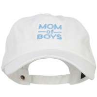 Embroidered Cap - Mom of Boys Embroidered Cap