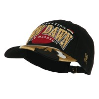 Embroidered Cap - War & Operations Constructed Cap | Free Shipping | e4Hats.com