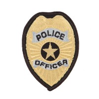 Patch - Police Officer Service Patches | Free Shipping | e4Hats.com