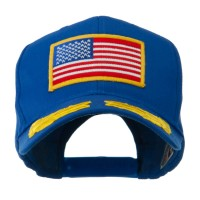 Embroidered Cap - Royal Oak Leaves American Patch Cap