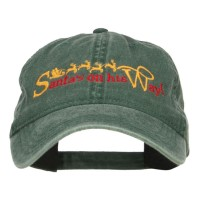Embroidered Cap - Santa on His Way Embroidered Cap | Free Shipping | e4Hats.com
